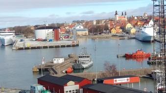 Utsikten över Visby