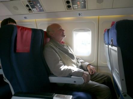 Åke på sin sista Sicilienresa 2009