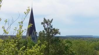 Tornet på Klinte kyrka