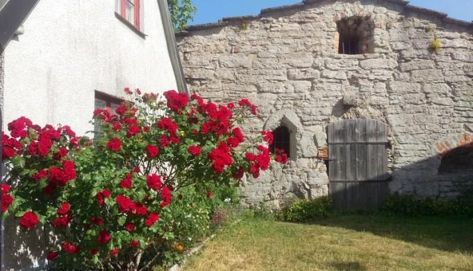 Inbyggt i ringmuren, östra muren bakom dagens busstation, ligger Tjärkoket, troligen byggt vid 1200-talets mitt.