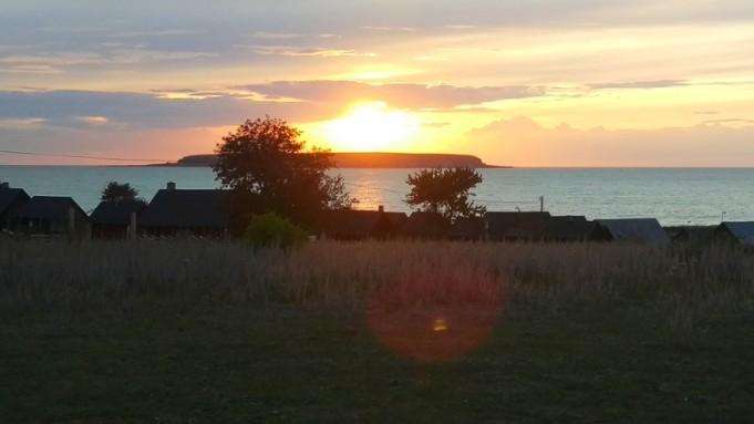 Och solen gick ner över Lilla Karlsö
