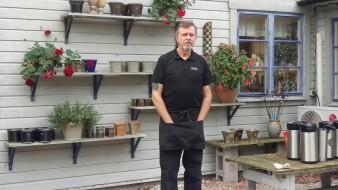 Tord Karlsson, keramiker berättar om sin verksamhet